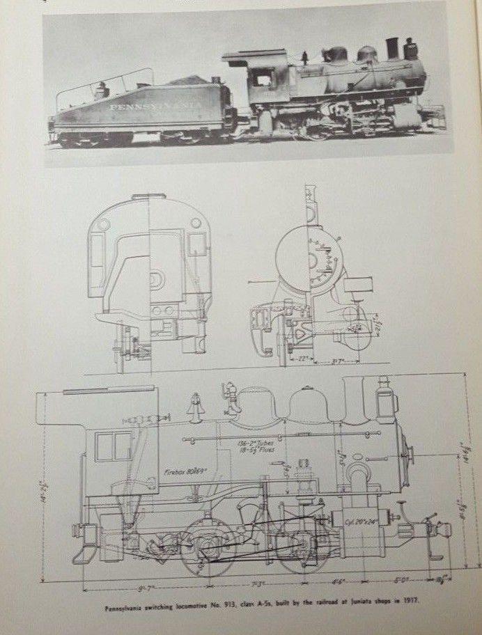 Steam Locomotive #Train Diagram 0-6-0 Switching No 913 Art Print
