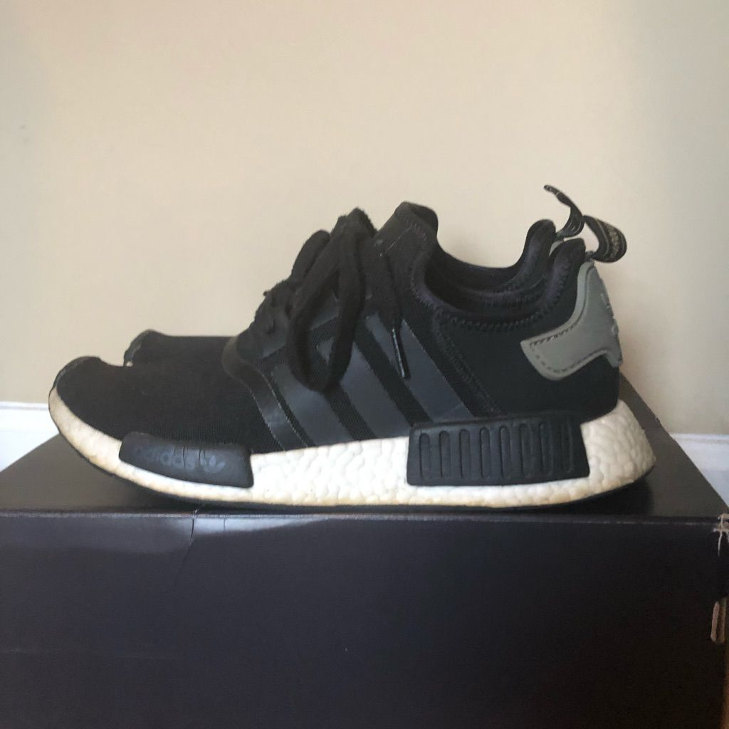 adidas Shoes | Adidas Nmd R1 Cargo | Color: BlackWhite