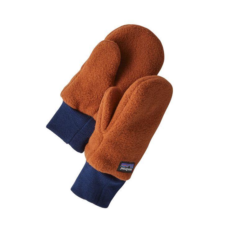 Children/'s Leather Winter Gloves For Kids Baby Boys Hand Warmer Soft Wool Mitten