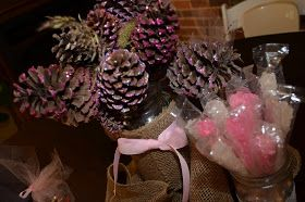 Welcome To The Craft Side: Pinecones, Mod Podge, and All That Glitters