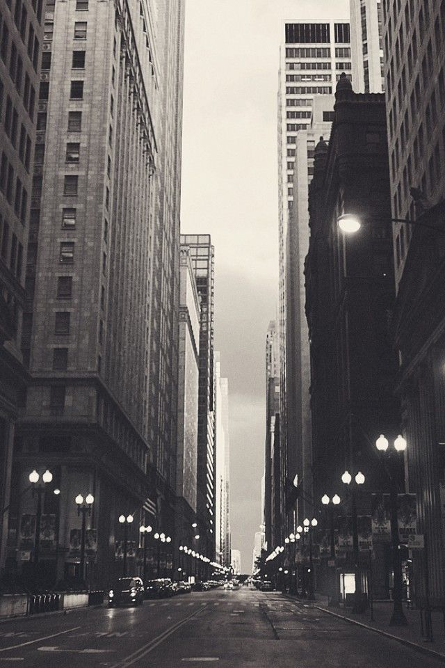 Financial District Chicago World IPhone 4s Wallpaper