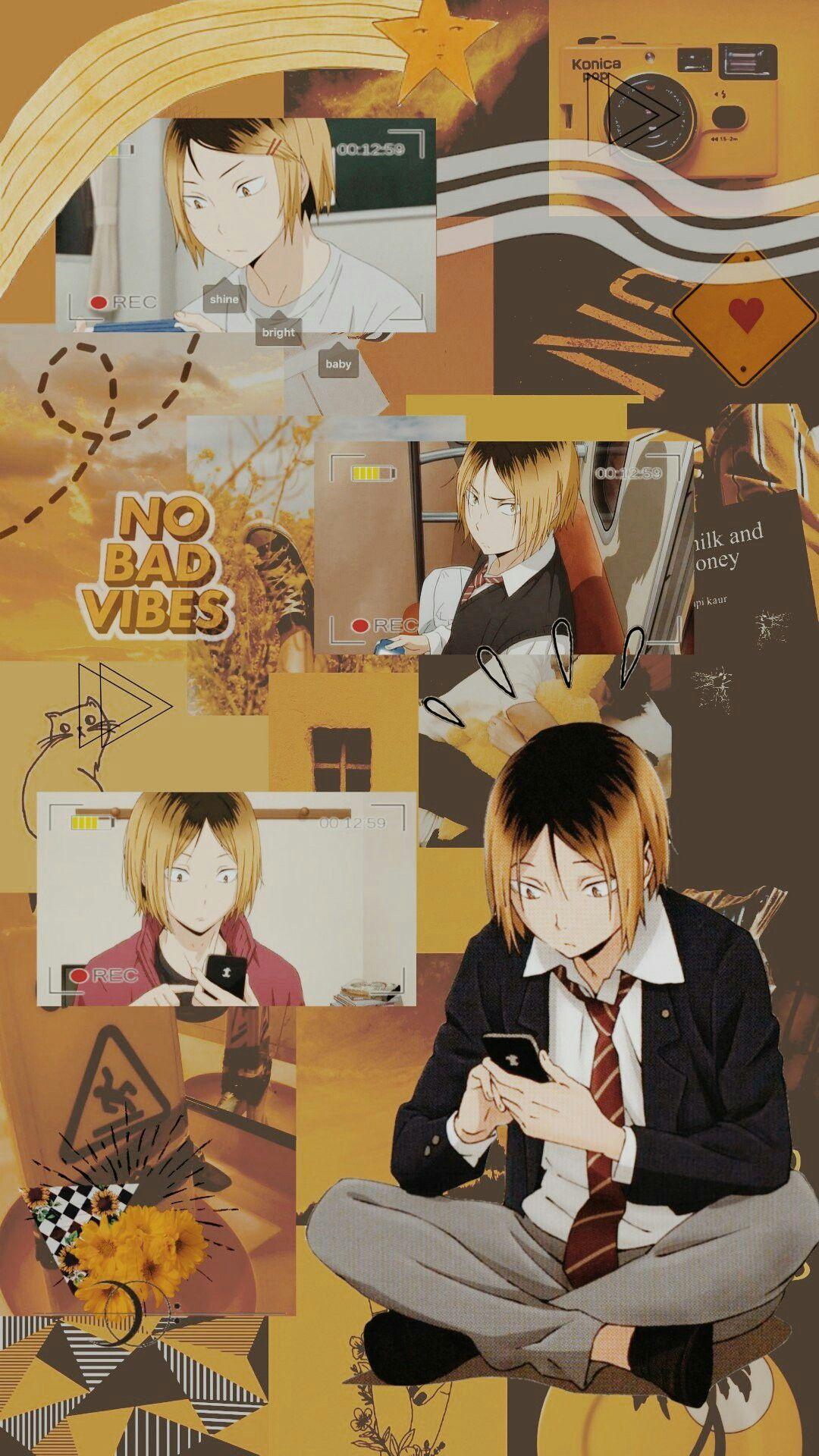 Kenma Haikyuu Wallpaper Anime Wallpaper Iphone Cute Anime