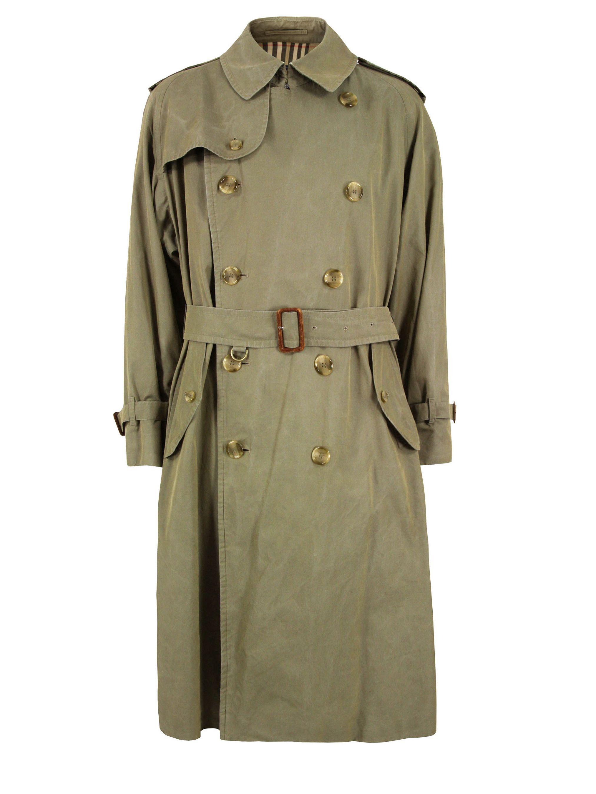 Vintage-Mens-Military-Burberry-Stone-Coat | Military ...