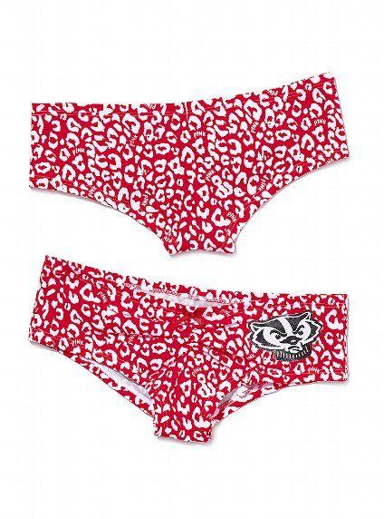 Wisconsin Badger Panties Png