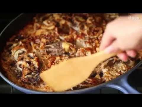 russisches Rindfleischgratin, russisches Essen, russisches Rezept, http://de.allrecipes.com/rezept/17013/russisches-rindfleischgratin.aspx