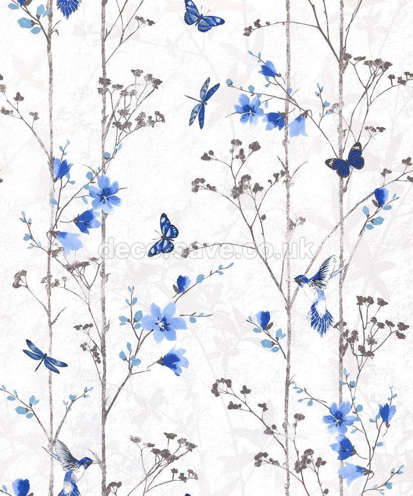 Muriva Eden Wallpaper 102552 Feature Wall Floral