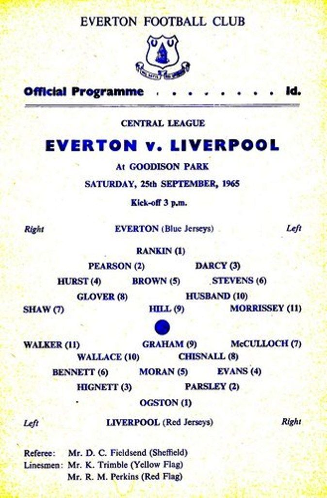 Pin on Everton Collection 1960-1970