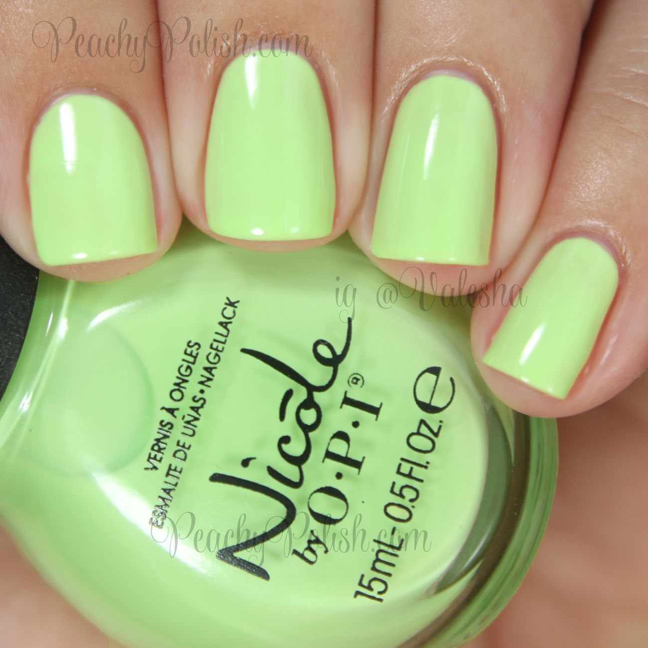 Nicole by OPI Lay It On The Lime | Seize The Summer Collection ...