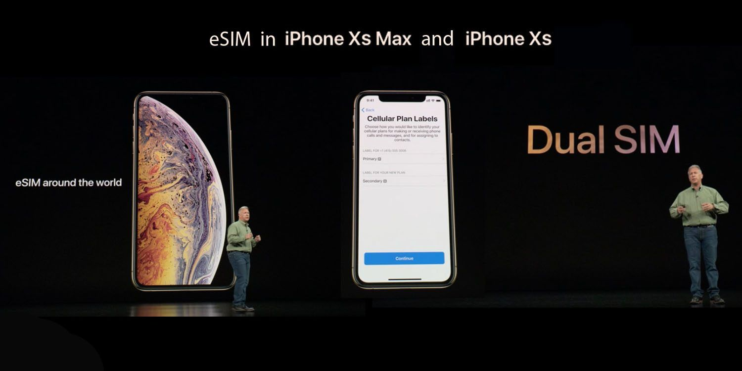 Since the iPhones XS and XR have gained support for dual