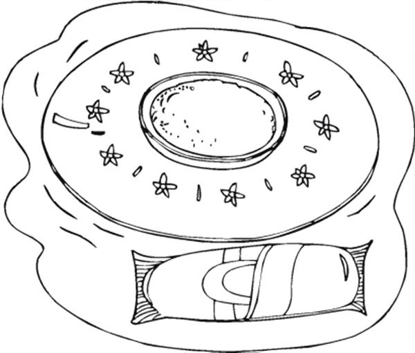 Chocolate Sinker Cookies Coloring Page Coloring Pages For Kids