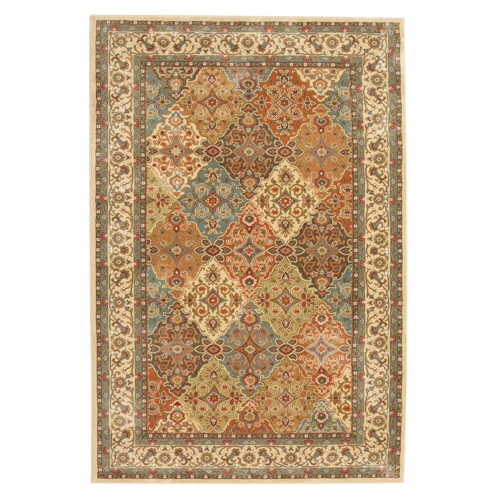 Home Decorators Collection Persia Almond Buff 5 Ft X 8 Ft Indoor Area Rug 441708 The Home Depot In 2020 Area Rugs Rugs On Carpet Home Depot Carpet