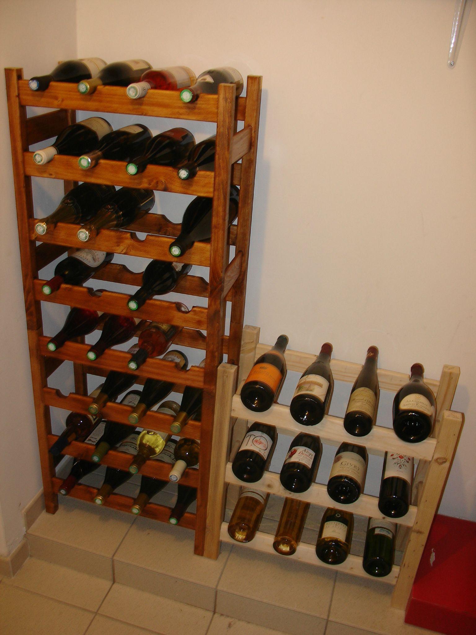 Fabriquer un range bouteille en palette - Livreetvin.fr | Range bouteille, Rangement bouteille ...