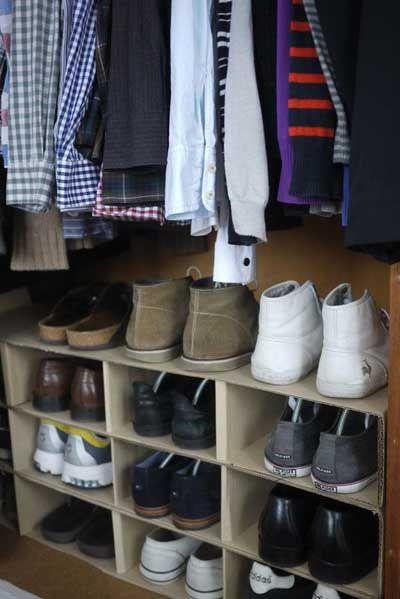 10 Ideas Originales Y Prácticas Para Organizar Los Zapatos Organizador De Zapatos Organizador De Zapatos Casero Zapatera De Carton