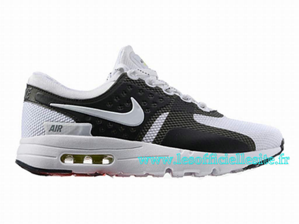 Boutique Nike Air Max Zero Chaussures Nike Pas Cher Pour Homme Noir/Blanc