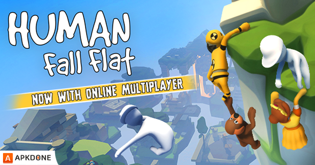 Human Fall Flat Apk Obb Data 1 0 Paid For Free For Android
