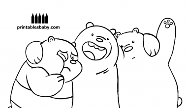 The Trio We Bare Bears Coloring Pages En 2020 Dibujos De