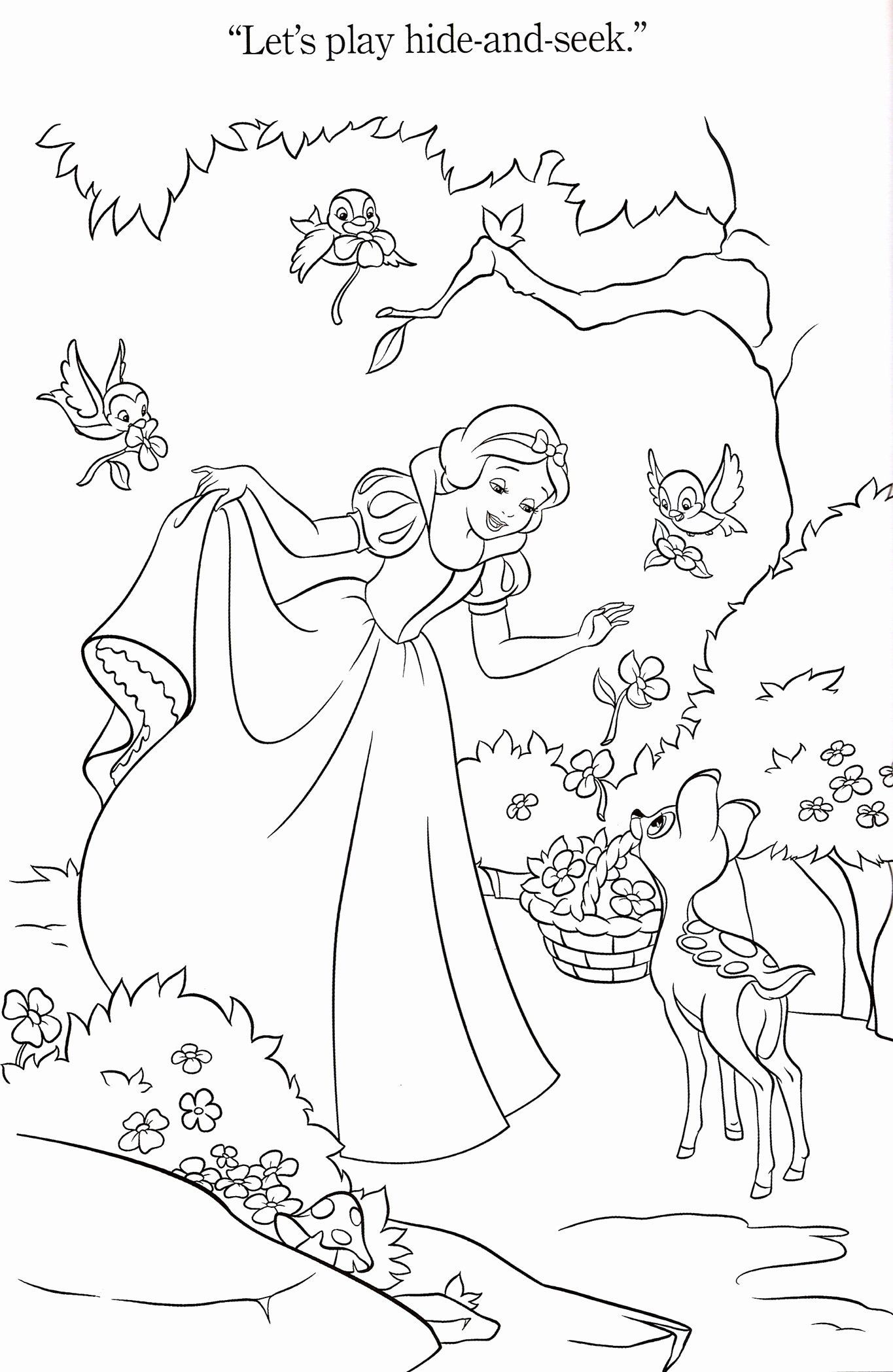 Disney Spring Coloring Pages Best Of 1000 Images About Snow White And The 7 Dwar Disney Princess Coloring Pages Disney Coloring Pages Cinderella Coloring Pages