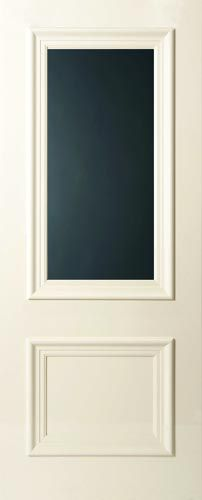 PRO 2L - Provincial Entrance Door with Super Grey glazing - laundry door