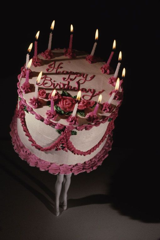Cave To Canvas Laurie Simmons Walking Cake Ii Color 1989