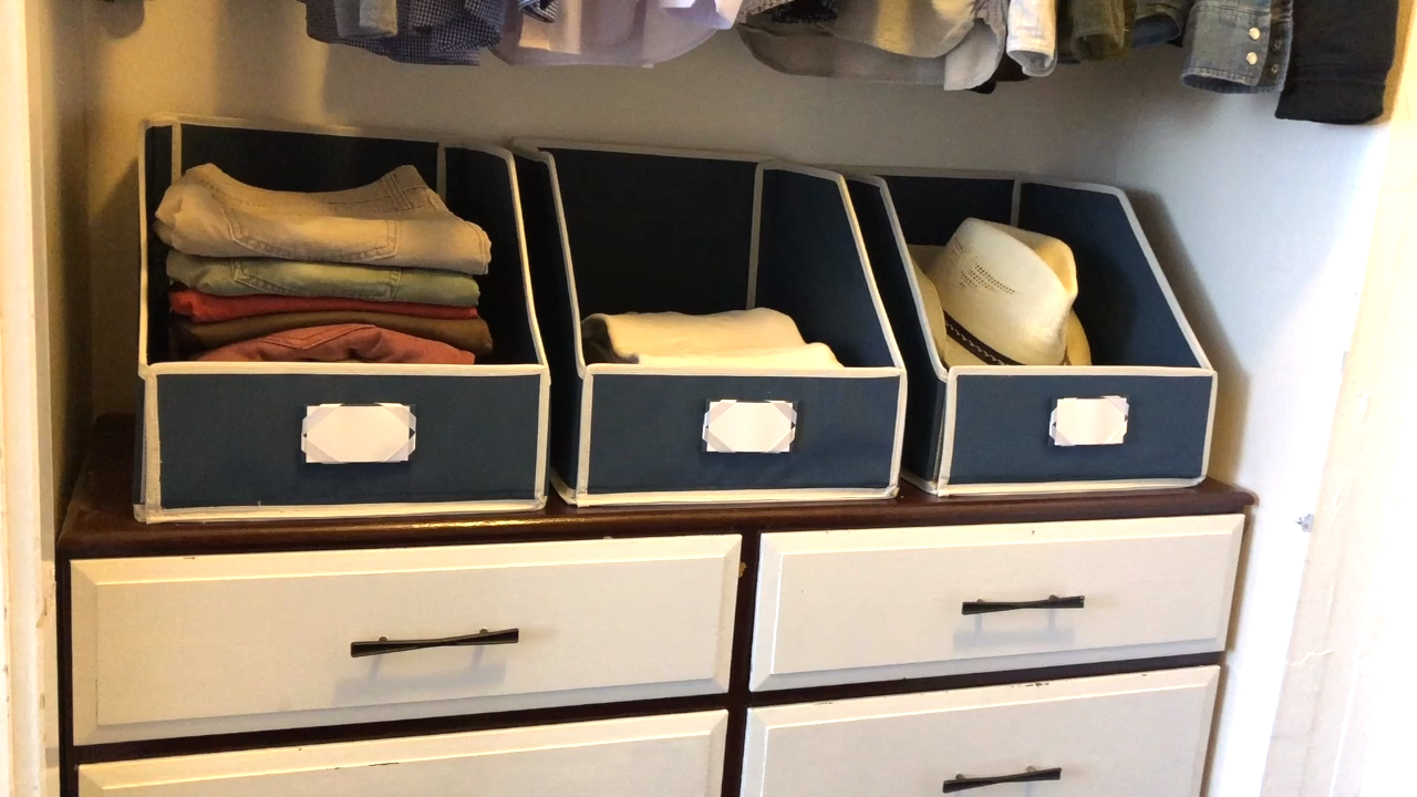 Photo of Prepare your closet with shelf containers!