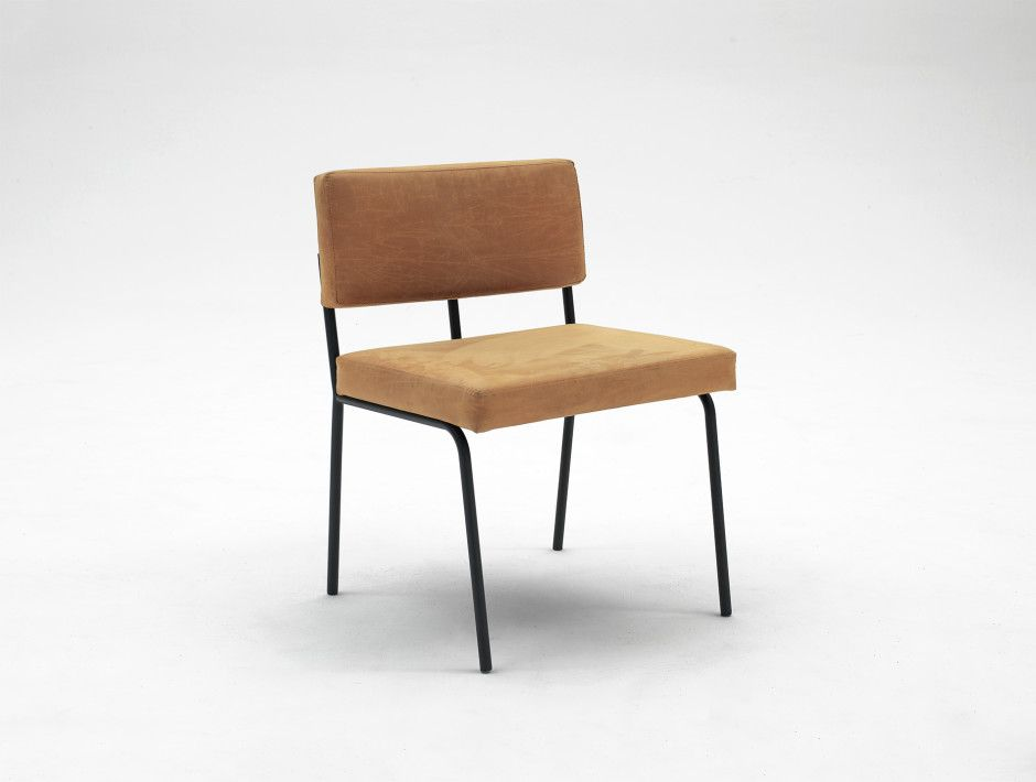 Monday Dining Chair Cognac By Fest Amsterdam Made In Netherlands