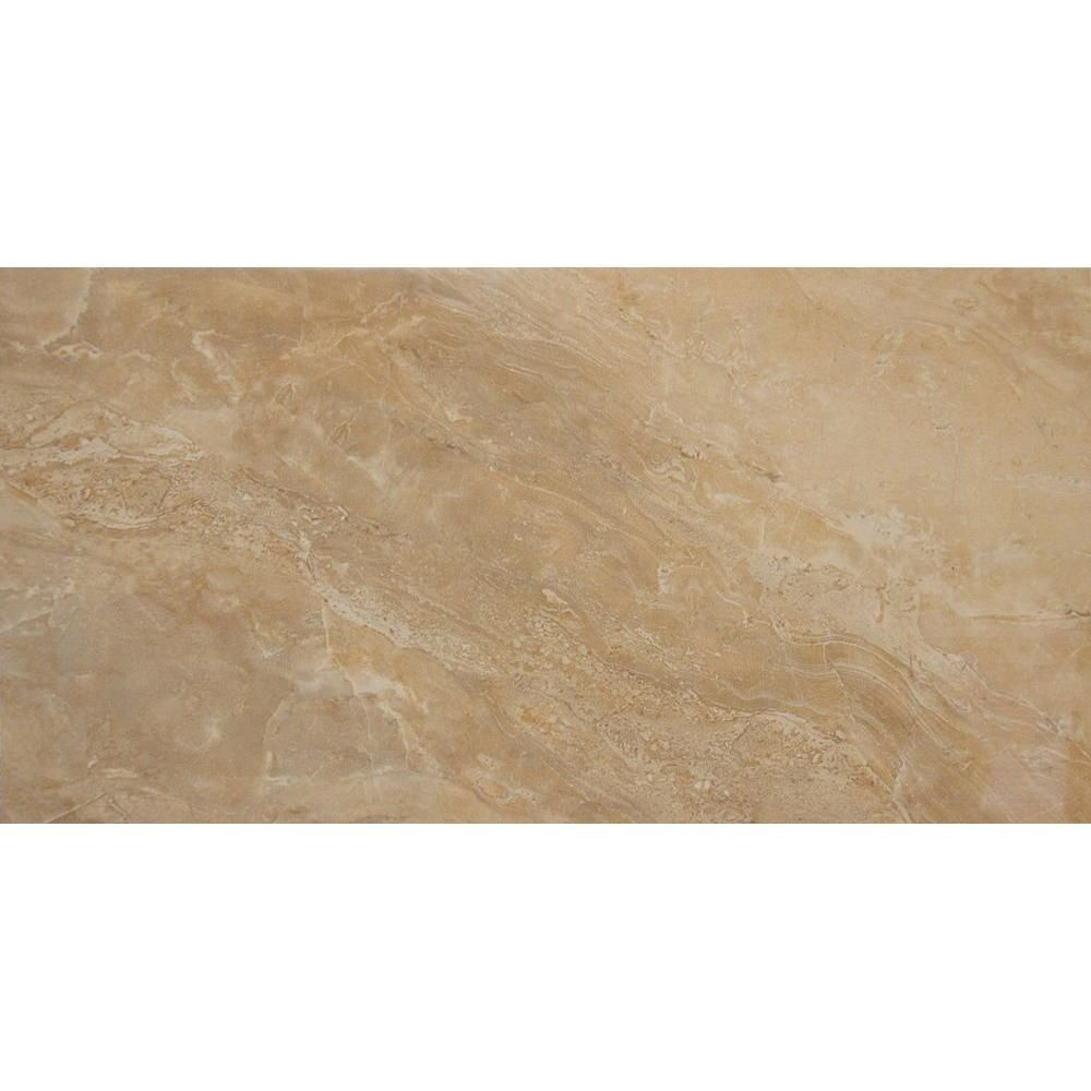 MSI Onyx Noche 12 in. x 24 in. Glazed Porcelain Floor and