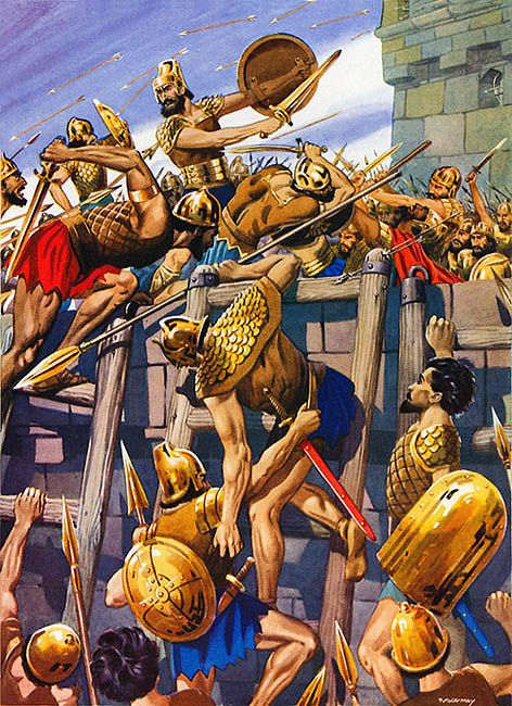 La pintura y la guerra nebuchadnezzar took the city of for City of la 457