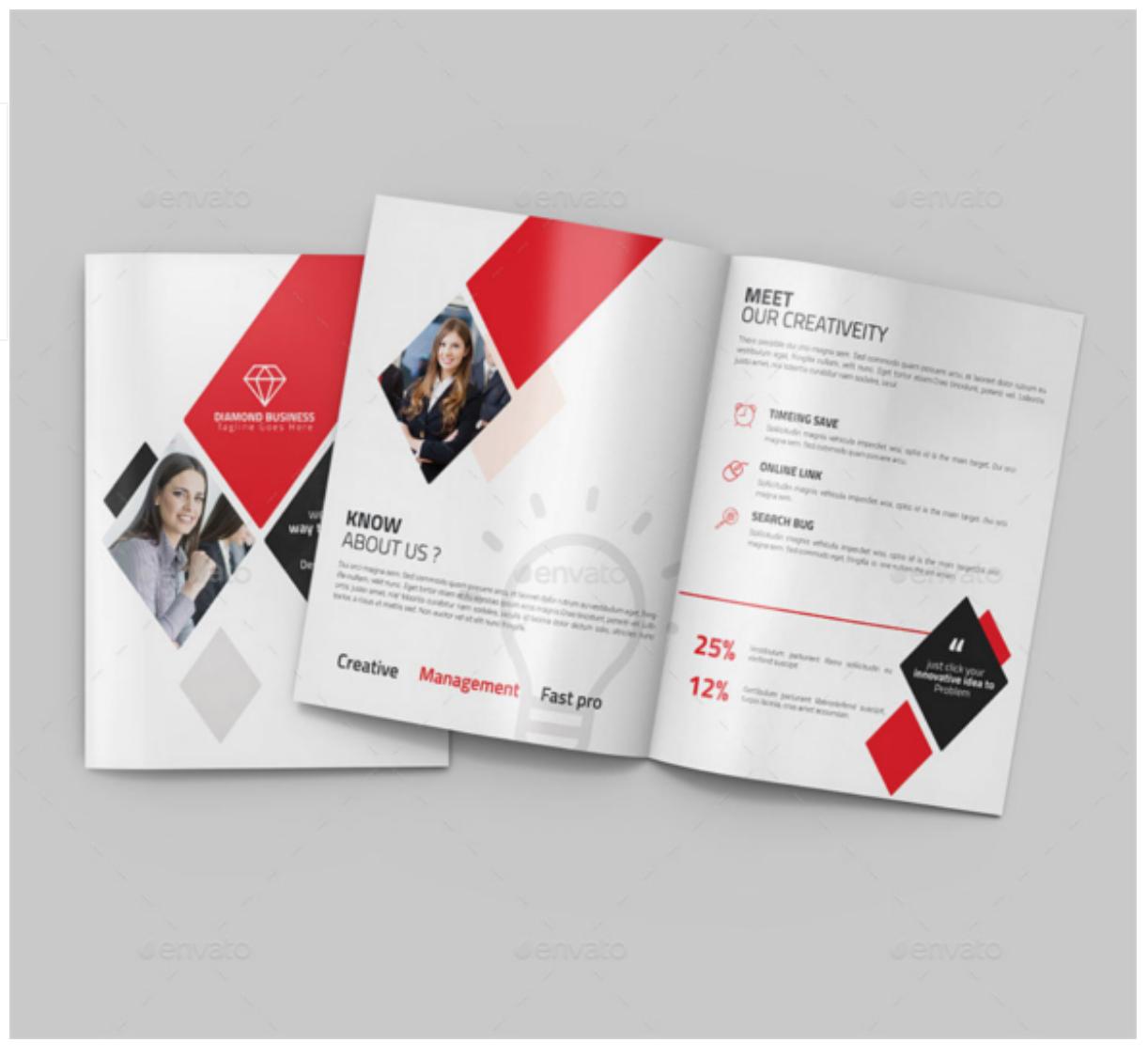 bi fold flyer template free