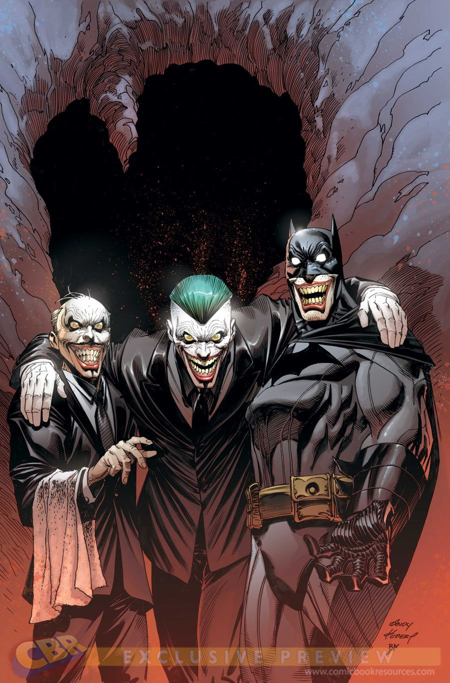 """Images for : EXCLUSIVE: Andy Kubert's """"Batman"""" #40 Cover and More From DC Comics - Comic Book Resources"""