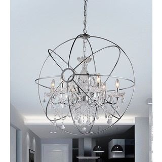 Overstock Pendant Lights Classy Shop For Saturn's Ring 32Inch Chandelierget Free Shipping At Review