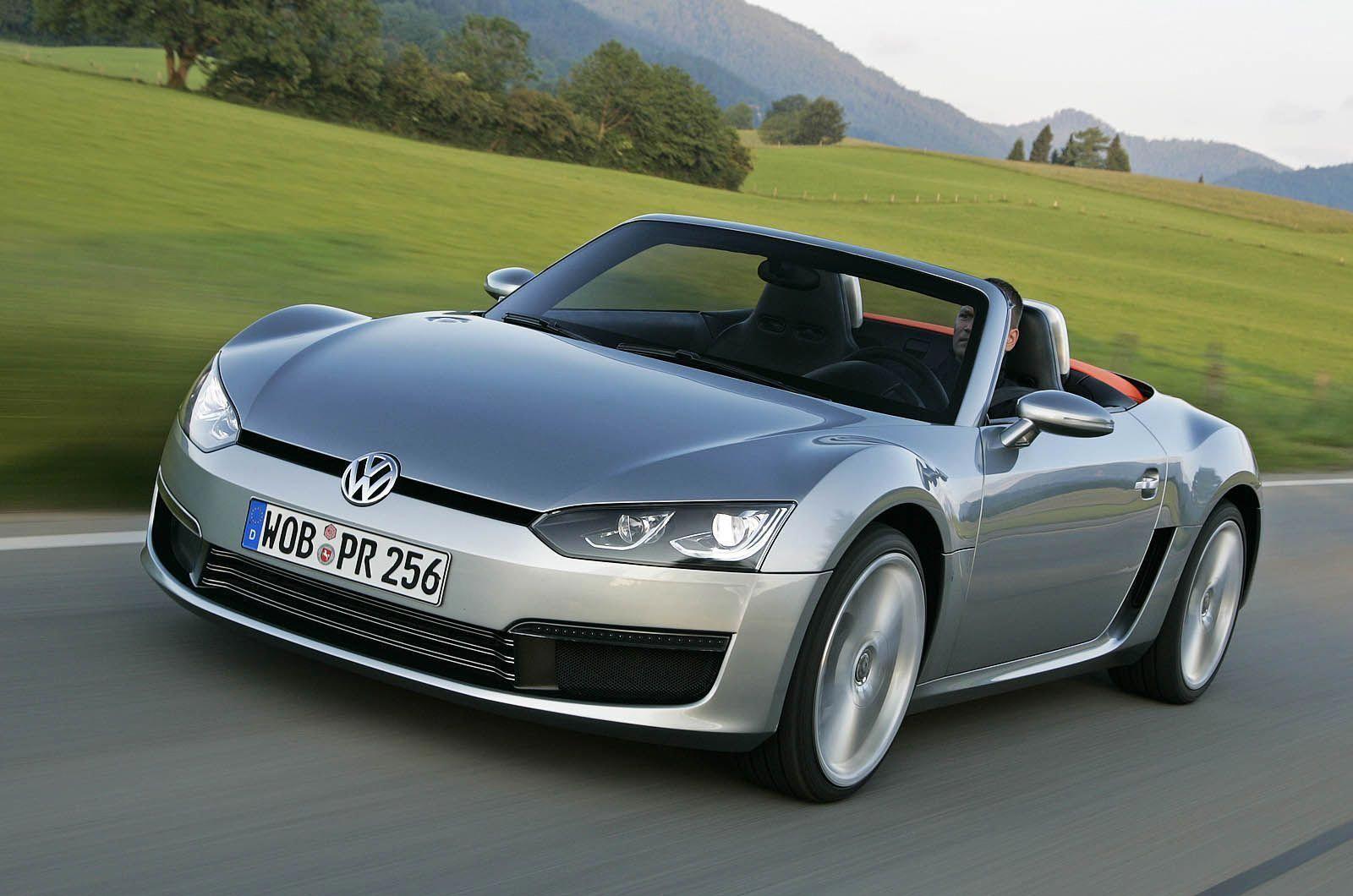 VW roadster set for 2013 VolkswagenConceptBlueSport