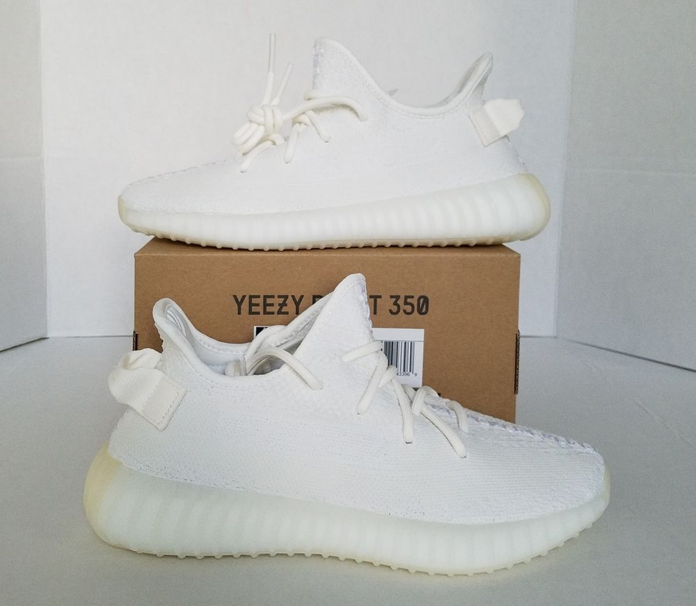 Adidas Yeezy Boost 350 V2 Triple White Cream Shoes CP9366