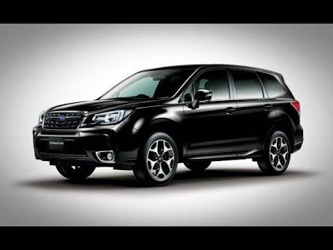2018 Subaru Forester Black Edition Forester Can Be Obtained With Two