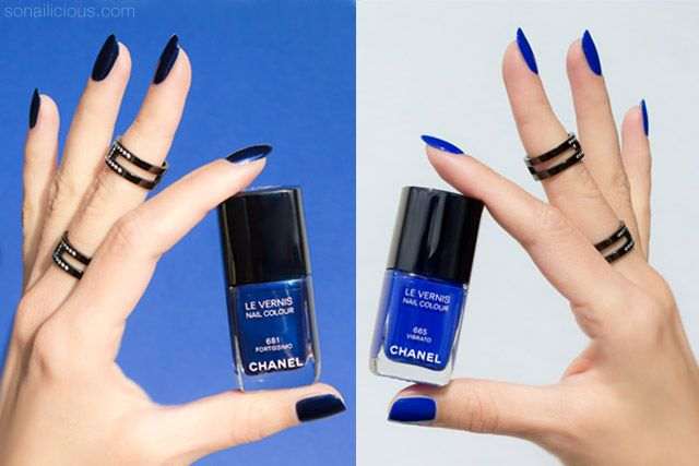 Chanel Vibrato And Fortissimo Must Haves Or Not Chanel Nail Polish Nail Polish Chanel Nails