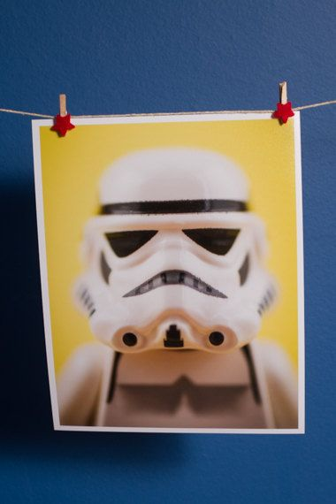 Lego Minifigure Print 8x10 Inch  by MarkCannPhotography on Etsy, £8.00