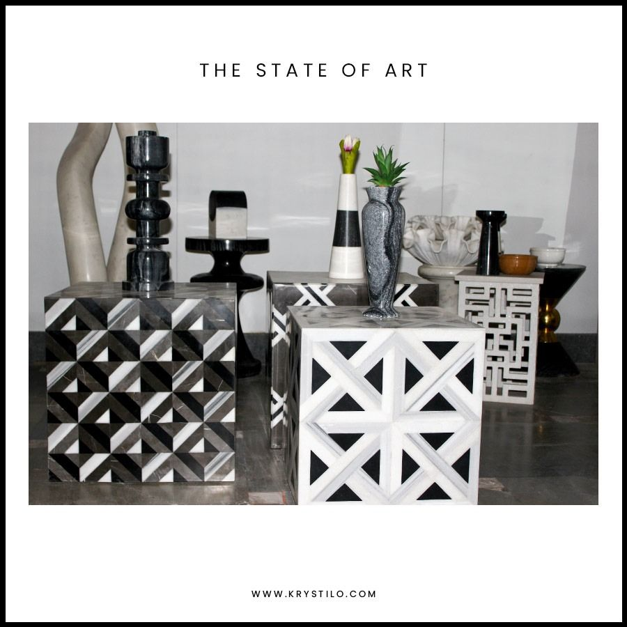 Fabricate an imperial space with our marble and granite vases and artifacts. To get hold of these state-of-the-art creations, pay a visit to our website www.krystilo.com or inbox us.  #stateofart #interiors #decorativeinteriors #vases #luxuryinteriors #luxuryhomes #luxuryhotels #luxuryhomedecor #luxurydesign #interiorarchitect #interiorstyling #interiorinspirations #interiorartwork