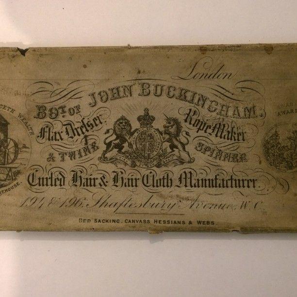 Arthur Beale John Buckingham Flax Dresser Rope Maker