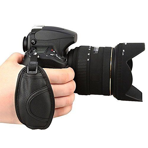 Prost Leather Hand Grip Strap for Canon EOS T5i T4i T3i 60D
