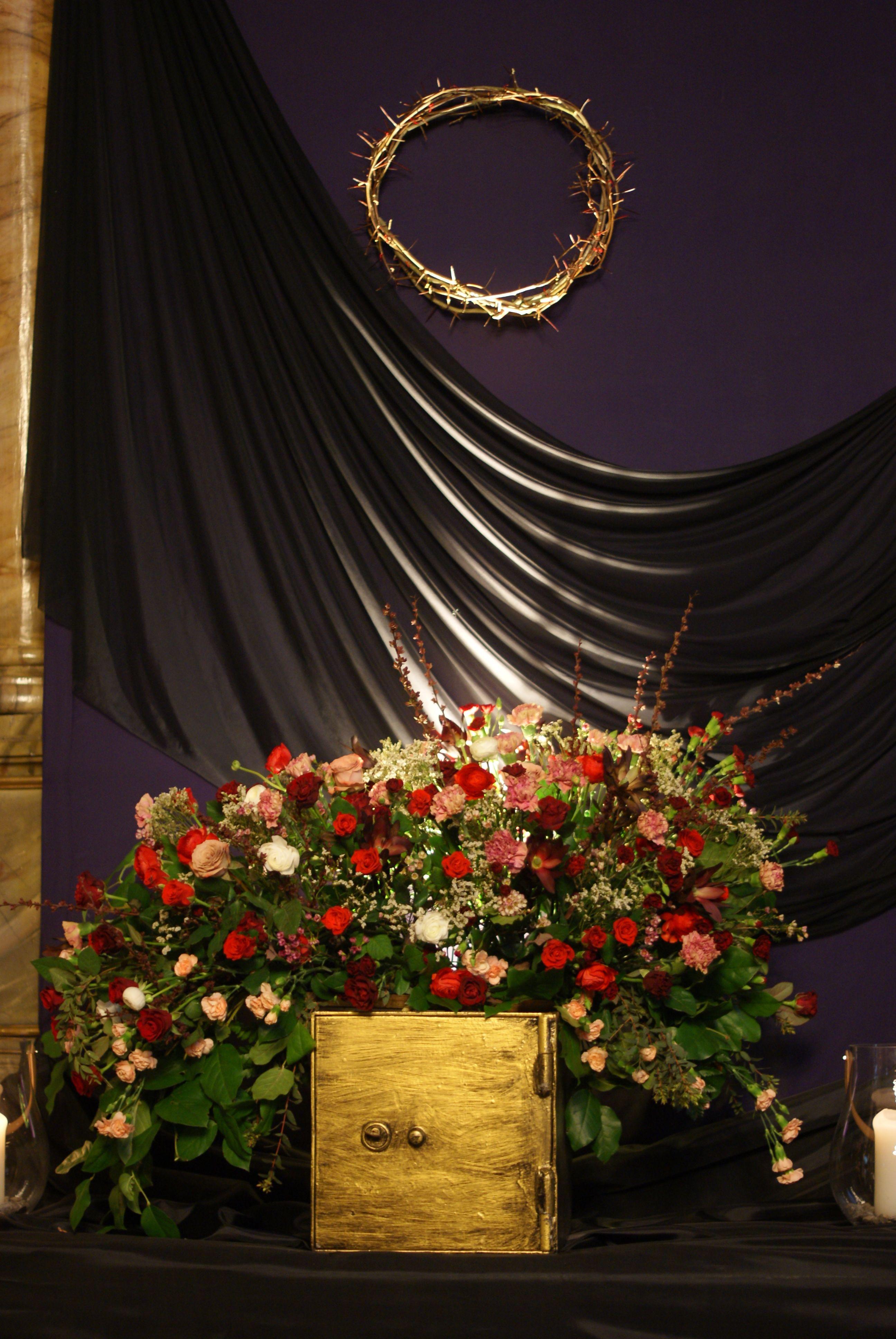 Ciemnica Dekoracje Kosciola Wielkanoc Church Decor Altar Decorations Altar