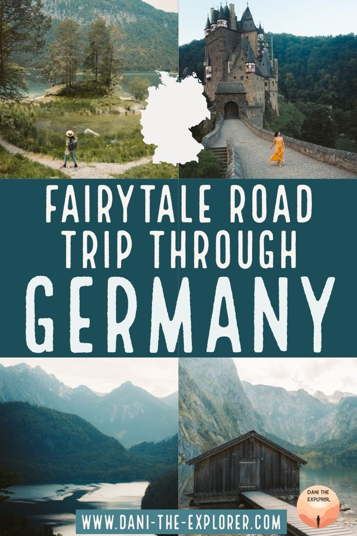 Fairytale-like Places To Visit In Germany You Must See #traveldestinations