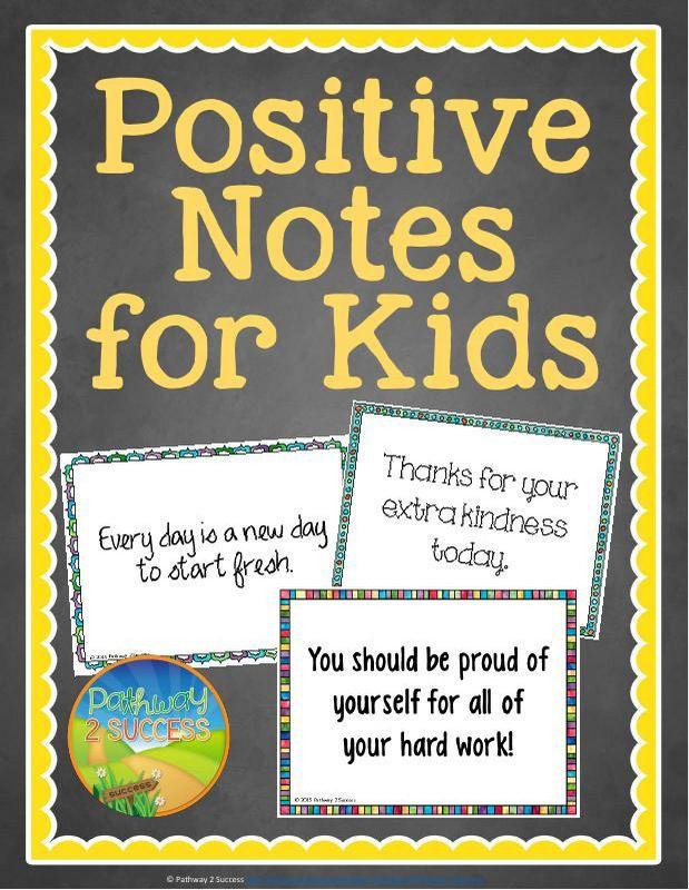 Positive Notes for Kids | Motivation for kids, Positive notes, Education  motivation
