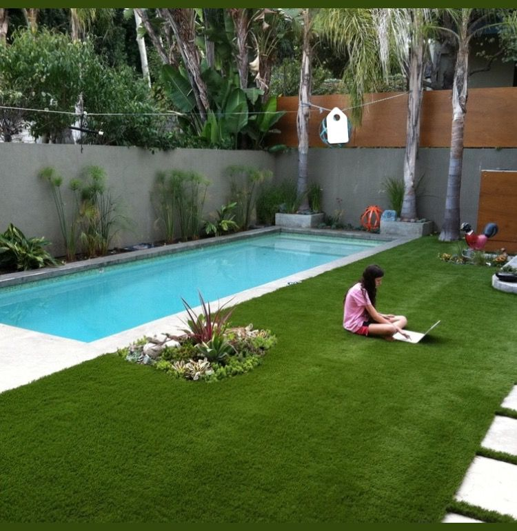 Pin By Varsha Vijay On Home Small Backyard Pools Small Pool
