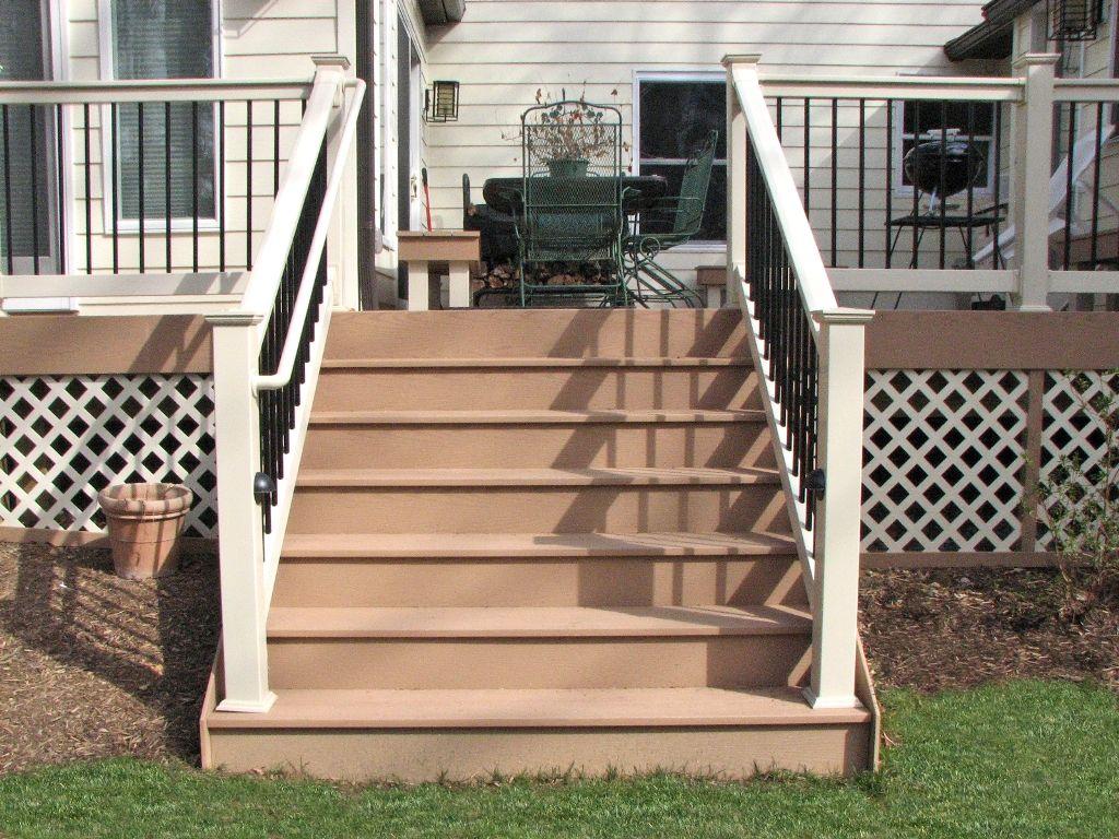 Best Azek Deck Steps With Deckorators Railing And Accessories 400 x 300