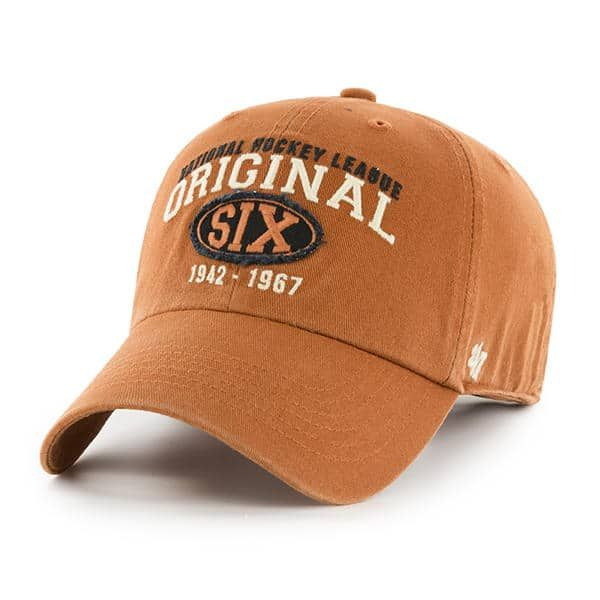 size 40 3363f 2791a Original Six 47 Brand Burnt Orange Clean Up Adjustable Hat