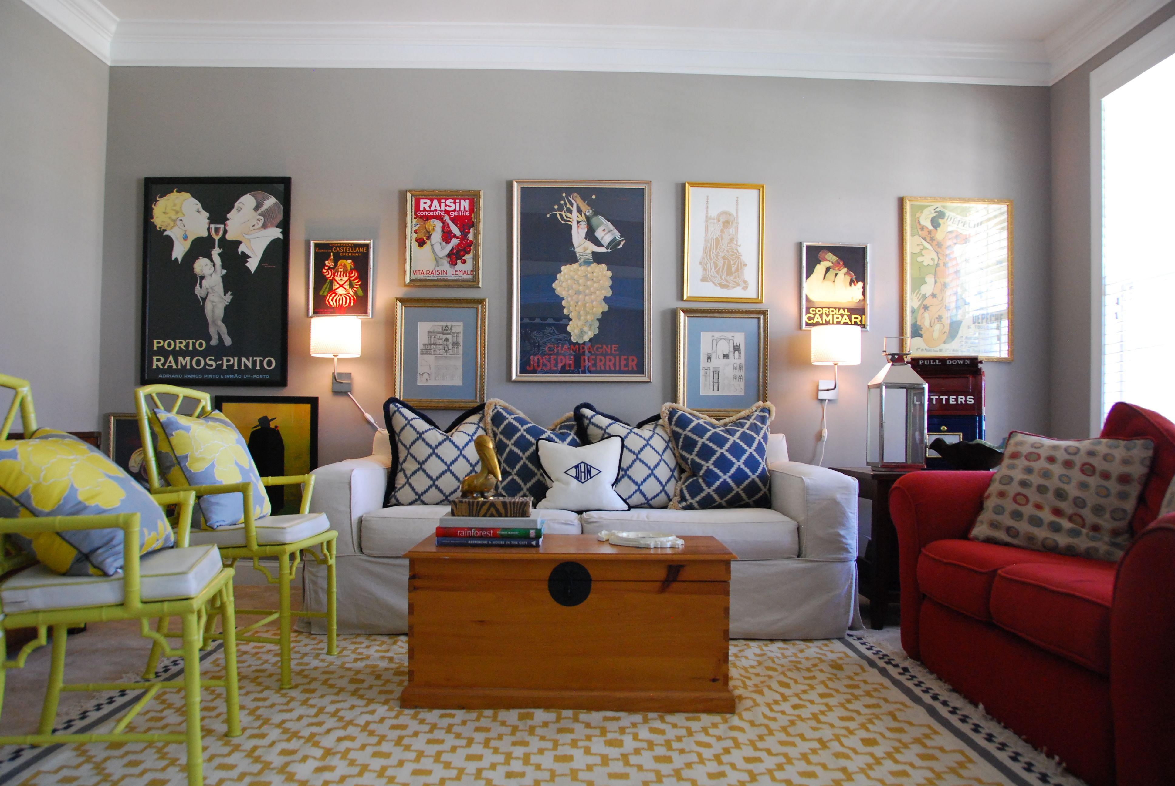 tips for arranging a perfect gallery wall  colourful