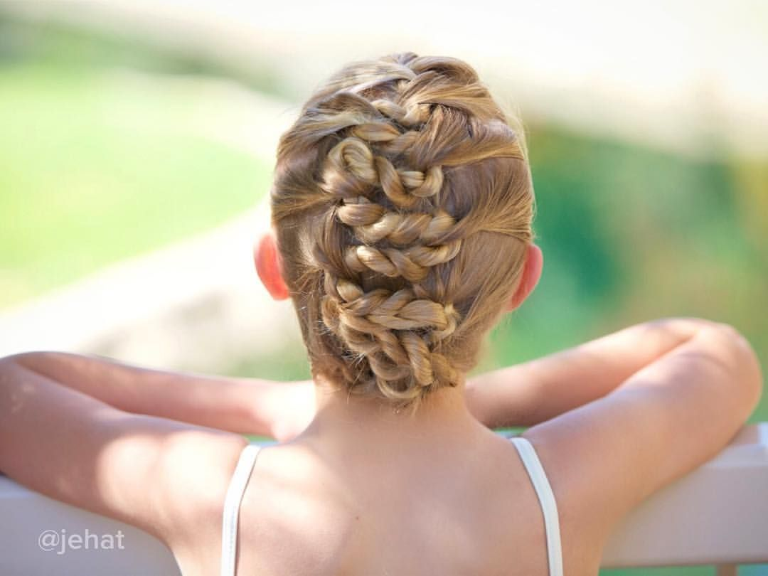 jehat hair — Close up of Brighton's zig zag rope twisted updo!...