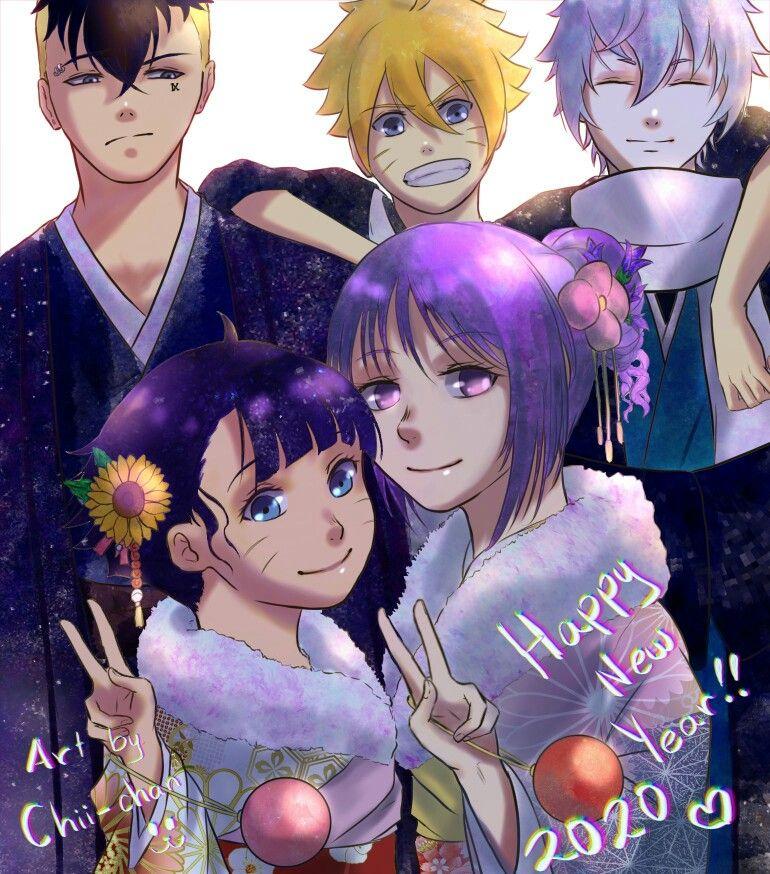 Boruto,Mitsuki,Sumire,himawari,kawaki di 2020