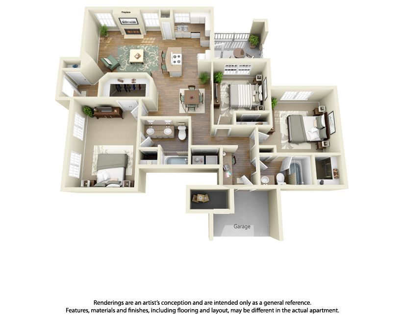 Pin By Jennifer Lee Jones On Our Barndominium 3d House Plans House Layouts Apartment Plans