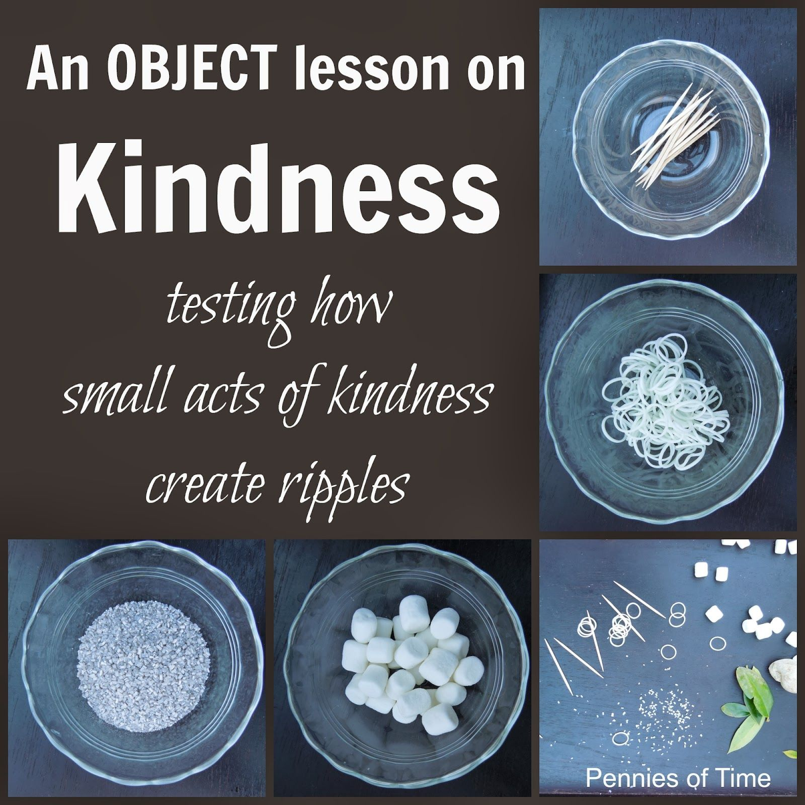 Act Of Kindness Object Lesson Testing How Small Acts Of