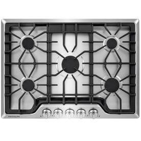 frigidaire 5burner gas cooktop stainless steel common 30in actu
